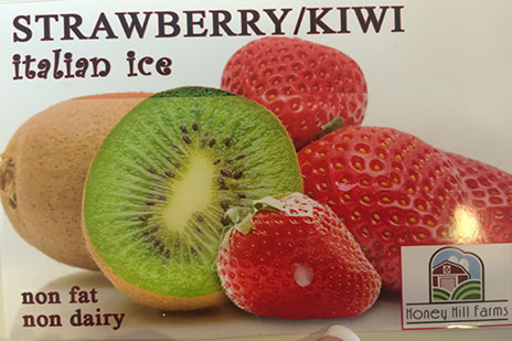 Strawberry Kiwi Italian Ice