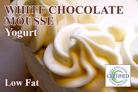 White Chocolate Mousse Yogurt